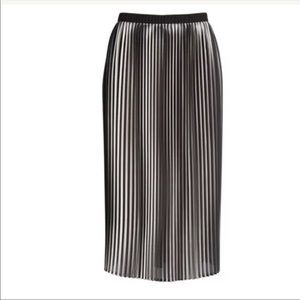 Eileen Fisher Ombré Printed Pleated Skirt
